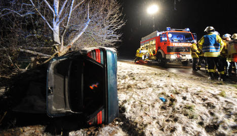 Accidents and delays rise as weather worsens