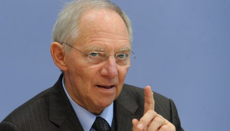 The euro will not fail, Schäuble says