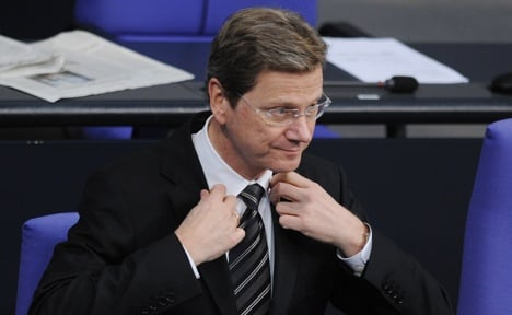 Nearly half of Germans want Westerwelle out