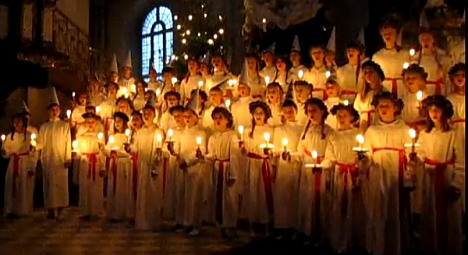 Swedish Lucia: a celebration with song