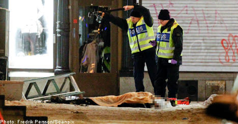 One dead after suicide bombing in Stockholm