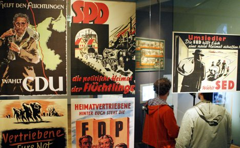 Left party against WWII refugee museum