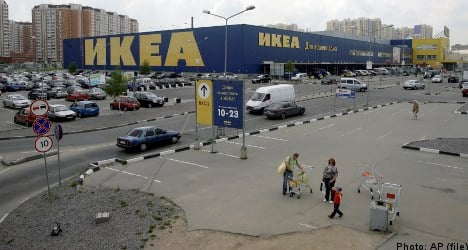 Ikea owner 'distressed' over Russian expansion