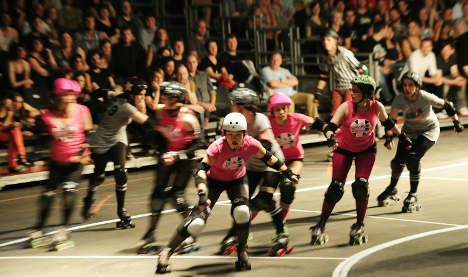 Roller derby warriors skate to glory