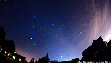 Guiding your celestial way on the longest night