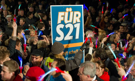 Taxpayers face rising cost for Stuttgart 21