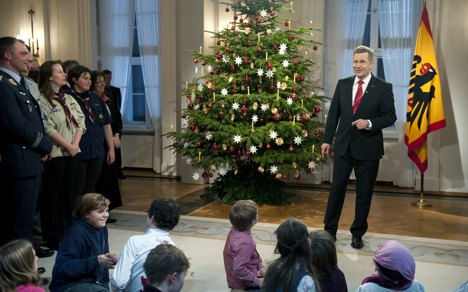 Wulff calls for tolerance in Christmas speech