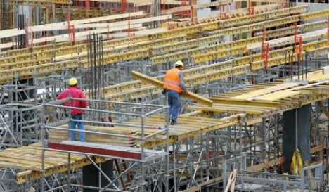 Construction industry continues to shrink