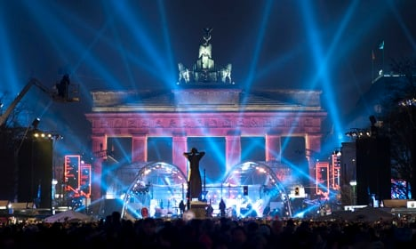Germans ring in 2011 with a bang