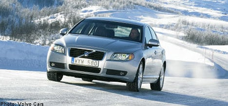 Sweden's Volvo Cars increases sales in 2010