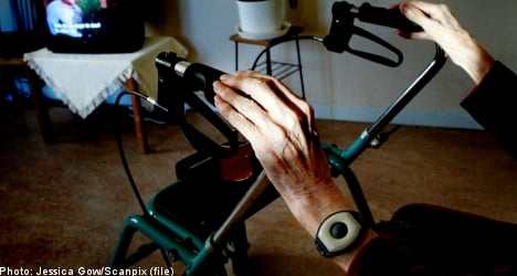Swede, 92, tricked into giving away home