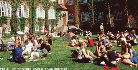 Foreign applications to Swedish unis collapse