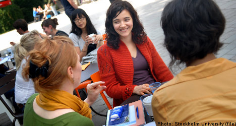 Stockholm University offers attractive option for foreign students