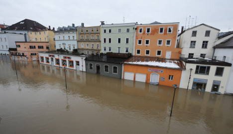 Floodwaters still rising
