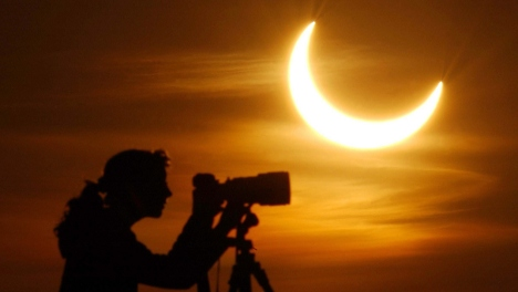 Solar eclipse to occur Tuesday morning