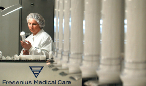 Fresenius boosts eastern Europe ops with big buy