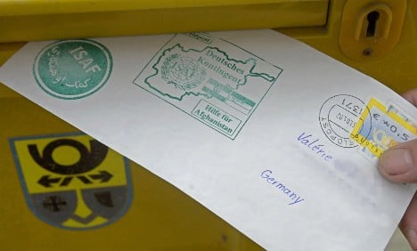 Soldiers' Afghanistan letters allegedly opened