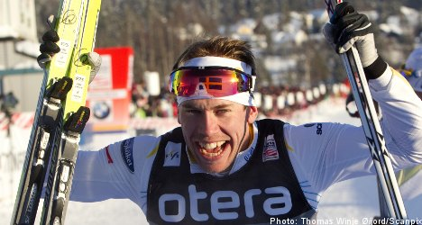 Two Swedes notch wins at Nordic World Cup