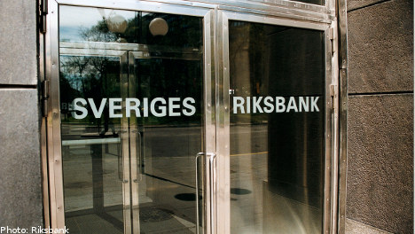 Sweden's central bank hikes interest rate
