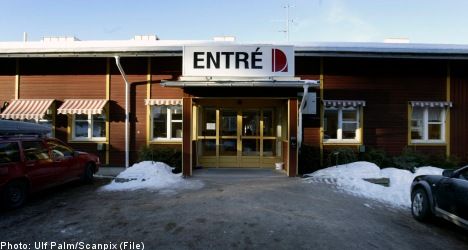 Swedish girl crushed to death in hospital bed