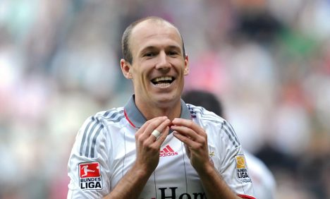 Bayern Munich to settle Robben row with Netherlands friendly