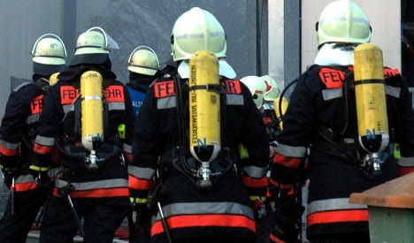 Firemen called to rescue beer