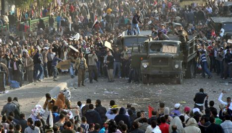Berlin dismayed by violent turn in Egypt