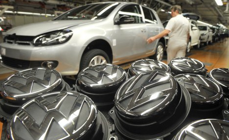 VW posts record and targets even better 2011