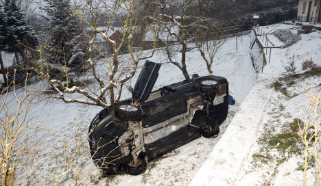 Ice causes traffic chaos, but warmer weather lies ahead