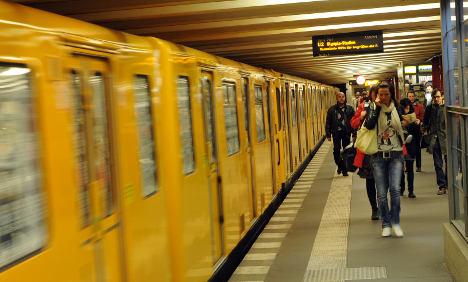 Youths attack homeless man in Berlin metro station