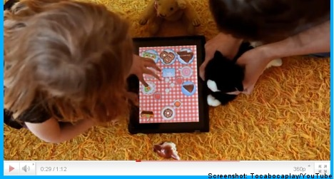 Swedish media firm launches apps for kids
