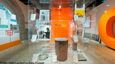 Stockholm museum makes history of garbage