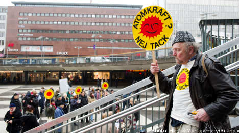 More Swedes favour nuclear phase out: poll