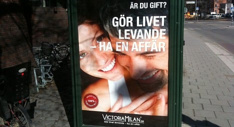 Swedish 'have an affair' ad sets complaint record
