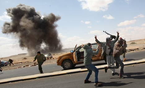 German support for Libya no-fly zone grows