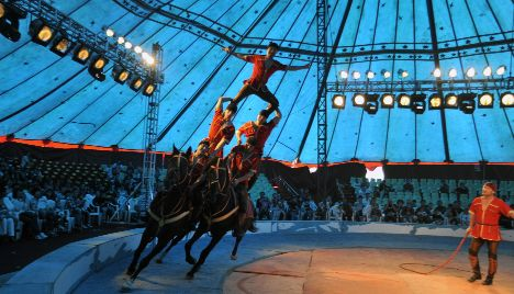 Shots fired as rival circus clans brawl in double booking row