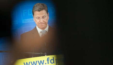 Westerwelle reportedly set to quit as FDP leader