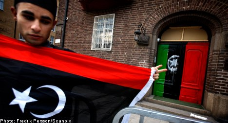 Six held after intrusion at Libyan embassy