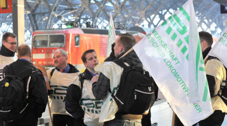 Train drivers to strike Thursday, Friday