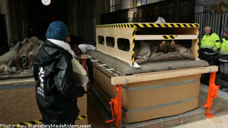 Swedish king exhumed to solve grave mystery