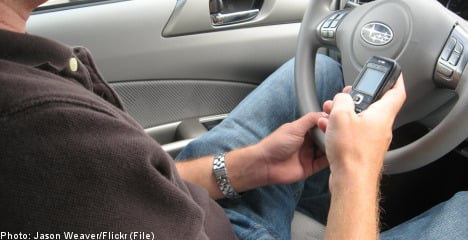 Sweden mulls ban on texting while driving