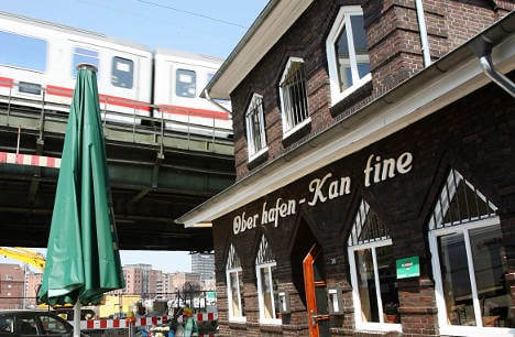 Iconic Hamburg harbour canteen gets a makeover