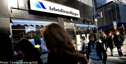 Sweden's jobless face prospect of bright future