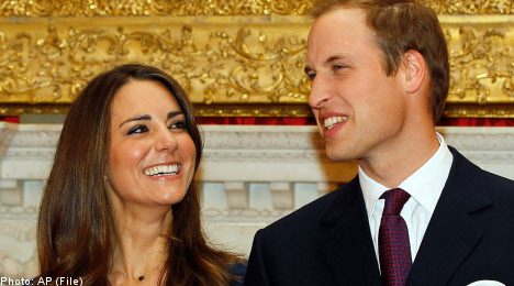 Some tips on watching Kate and William tie the knot from Sweden