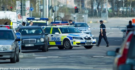 Four wounded in Gothenburg shootout