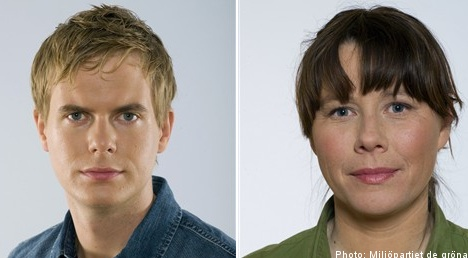 Romson and Fridolin to lead Sweden's Greens