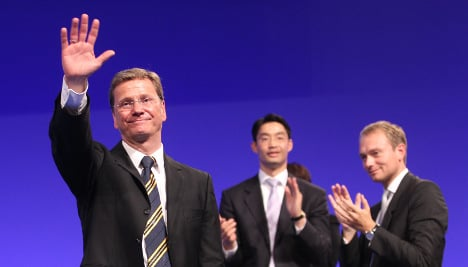 Westerwelle to cling on as foreign minister