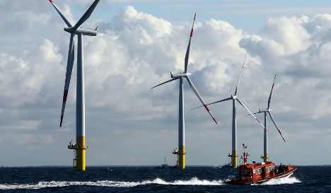 First offshore commercial wind farm goes online