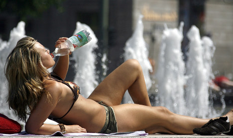 Topless sunbathing goes out of style