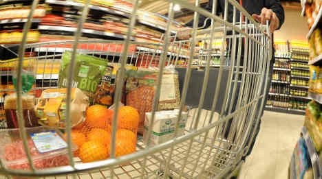 Food prices on the rise as inflation tops two percent